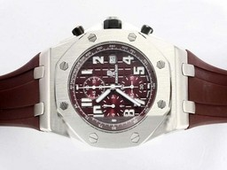 Fake Stora Audemars Piguet Royal Oak Offshore Working Chronograph AAA klockor [ E1E1 ]